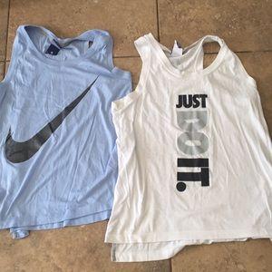 Nike workout tanks